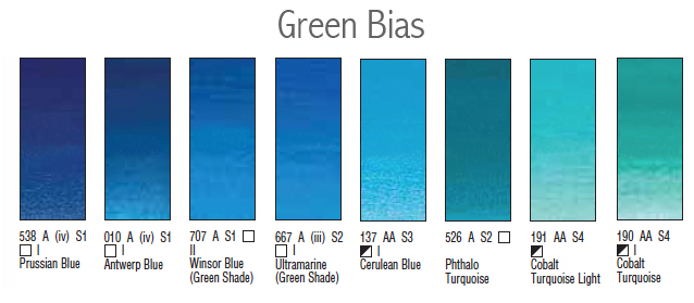 green bias new