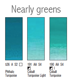 Nearly greens